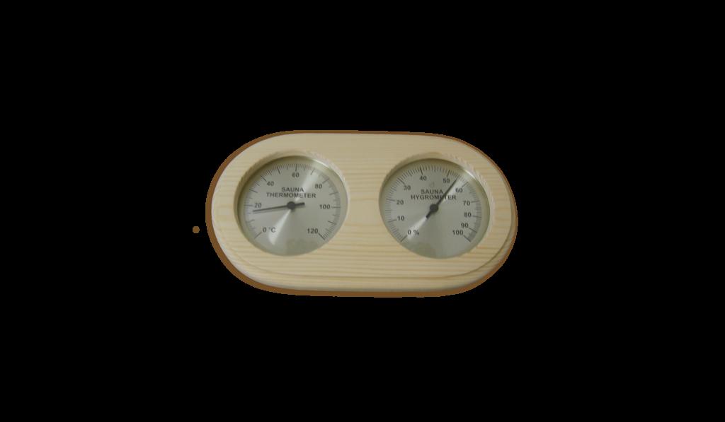 accesorios para saunas TERMOMETRO-HIGROMETRO