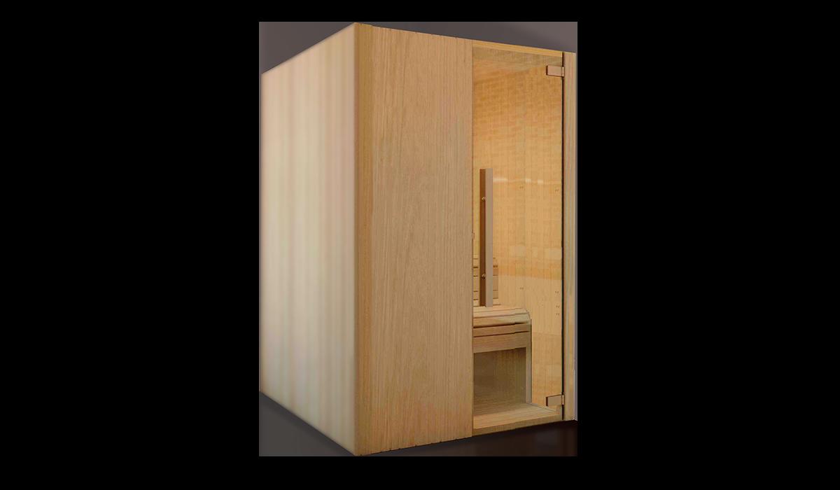 sauna kit 2 de saunakris una sauna f cil de construir uno mismo. Black Bedroom Furniture Sets. Home Design Ideas