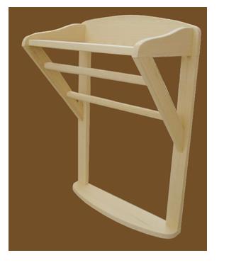 Toallero para sauna